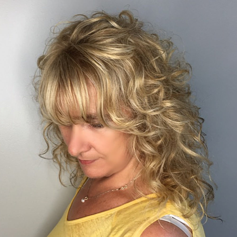 Recent Blonde Shag Haircuts With Emphasized Layers Within 125 Coolest Shag Haircuts For All Ages – Prochronism (View 16 of 20)