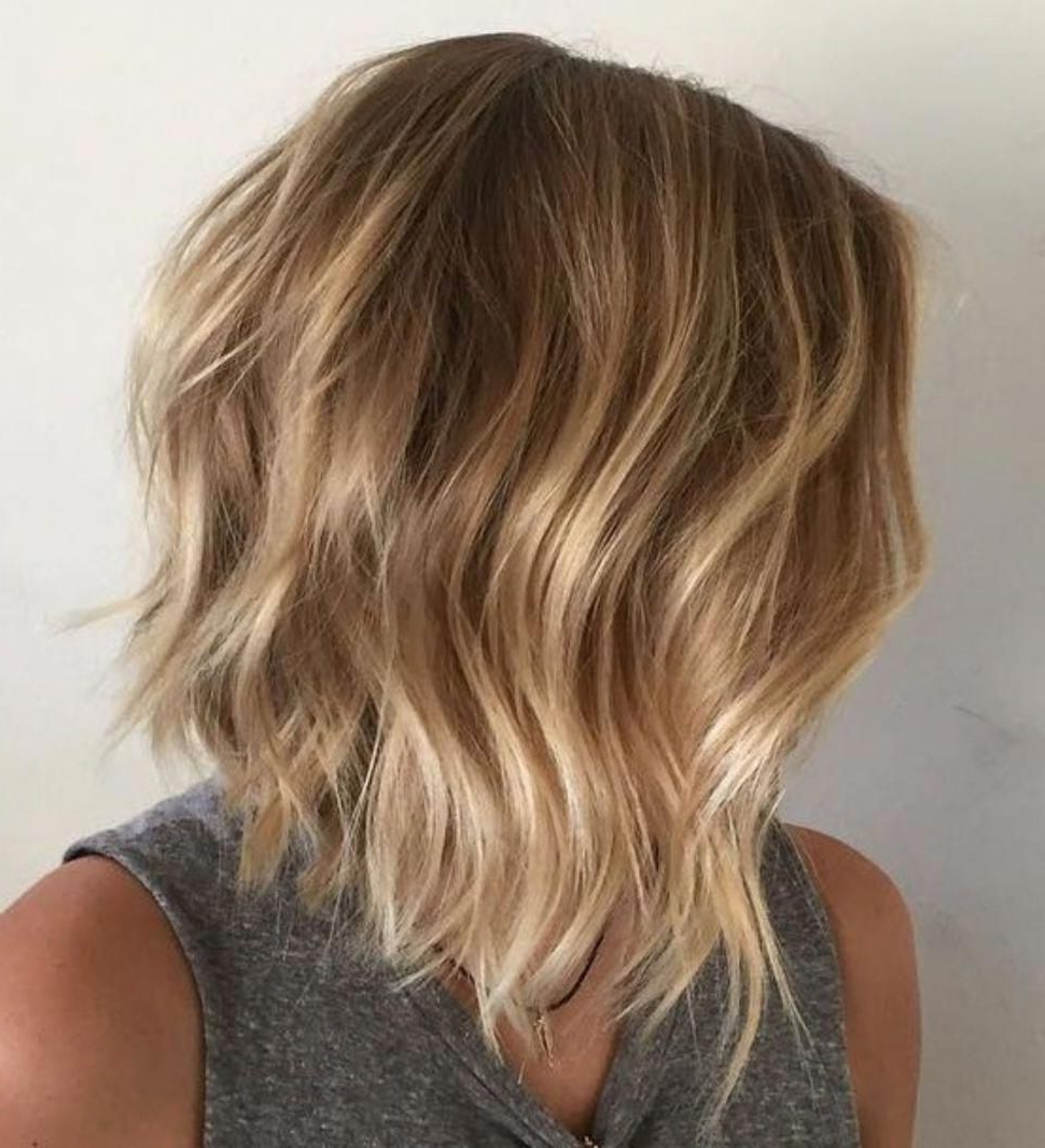 Recent Feathered Golden Brown Bob Hairstyles Intended For 60 Best Bob Hairstyles For 2019 – Cute Medium Bob Haircuts (View 13 of 20)