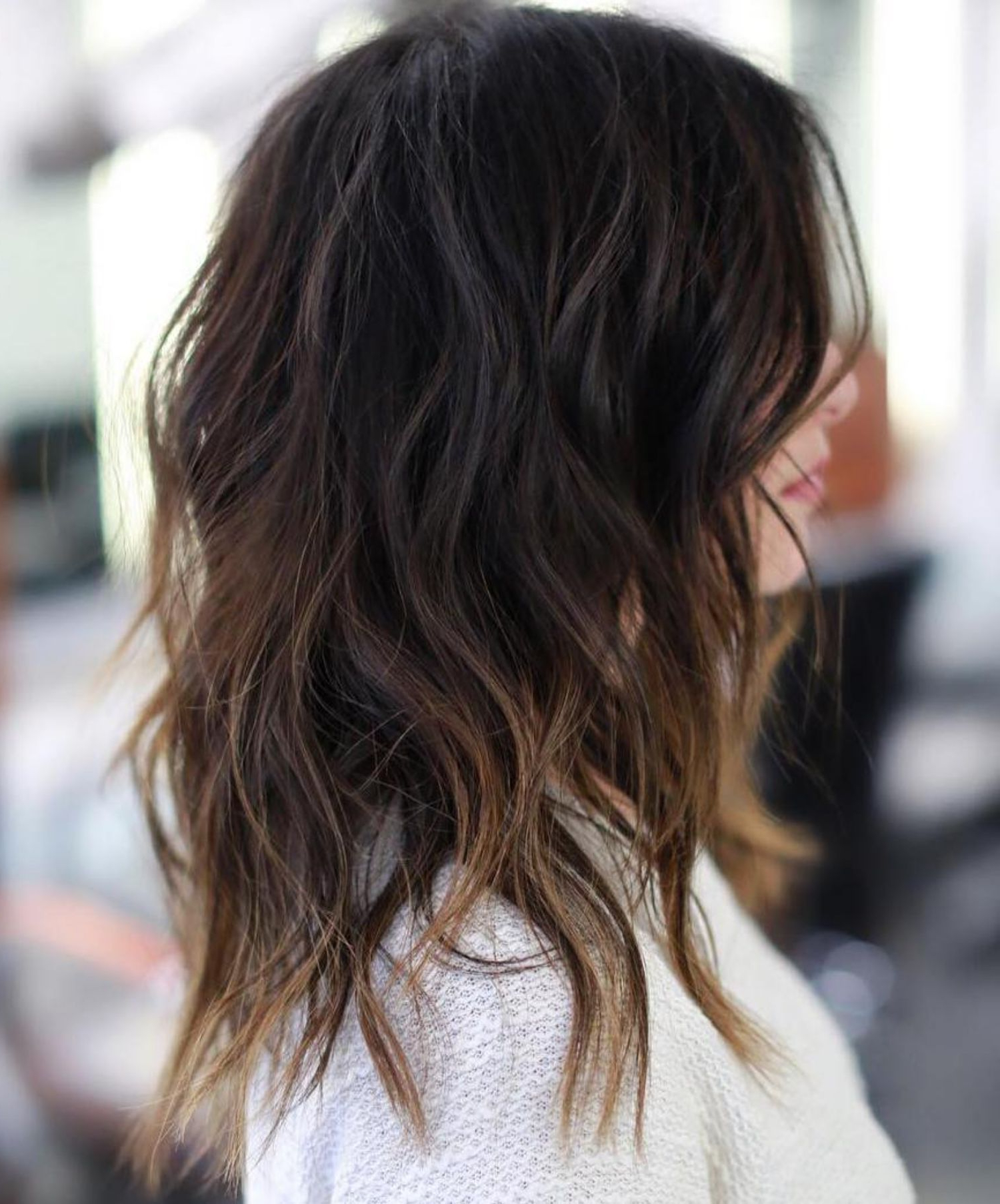 Recent Natural Layers And Ombre Highlights Long Shag Hairstyles Within 60 Lovely Long Shag Haircuts For Effortless Stylish Looks (View 2 of 20)
