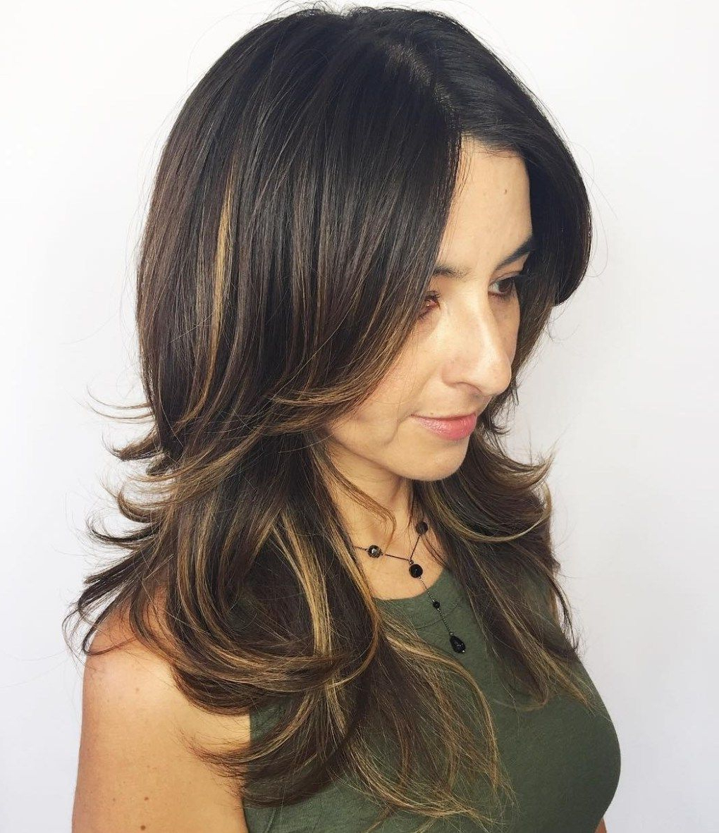 Recent Shiny Brunette Shag Haircuts For Long Hair For 50 Lovely Long Shag Haircuts For Effortless Stylish Looks (View 15 of 20)