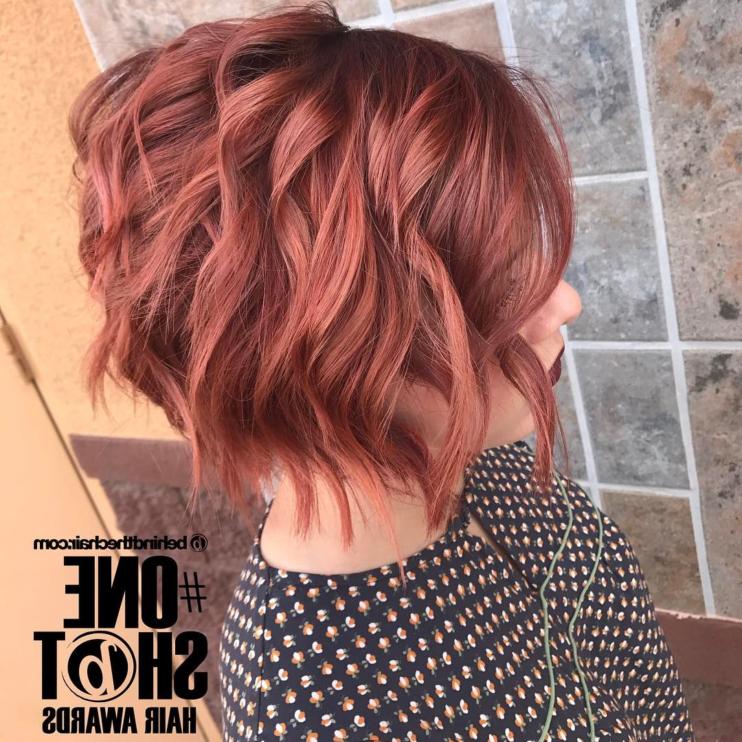 Recent Tousled Auburn Bob Haircuts Pertaining To 10 Hottest Short Haircuts For Every Woman 2020 – Short Hair (View 18 of 20)