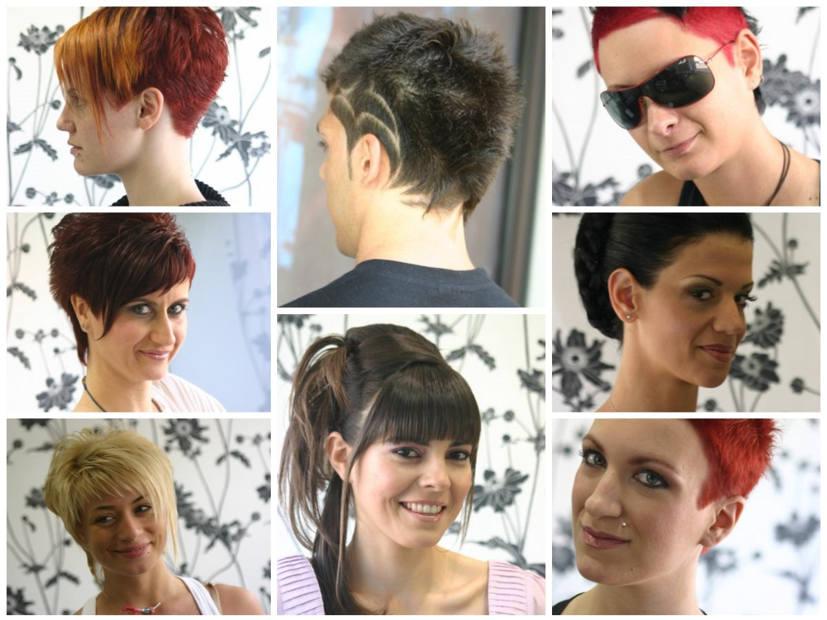 Sassy Hip Hairstyles From Greece | Passion, Expressive With Sunset Inspired Pixie Bob Hairstyles With Nape Undercut (View 10 of 20)