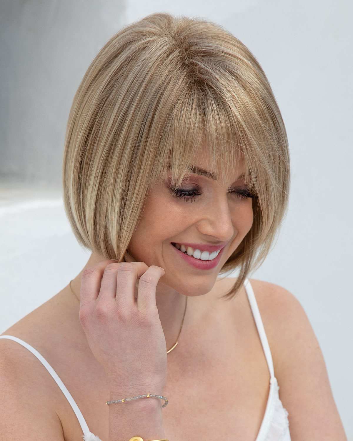 Scorpio Synthetic Wigorchid Inside Jaw Length Shaggy Walnut Brown Bob Hairstyles (View 14 of 20)