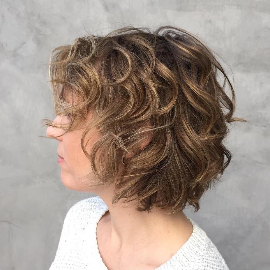 Shag Haircuts Within Curls Of Tinsel Shag Haircuts (View 3 of 20)