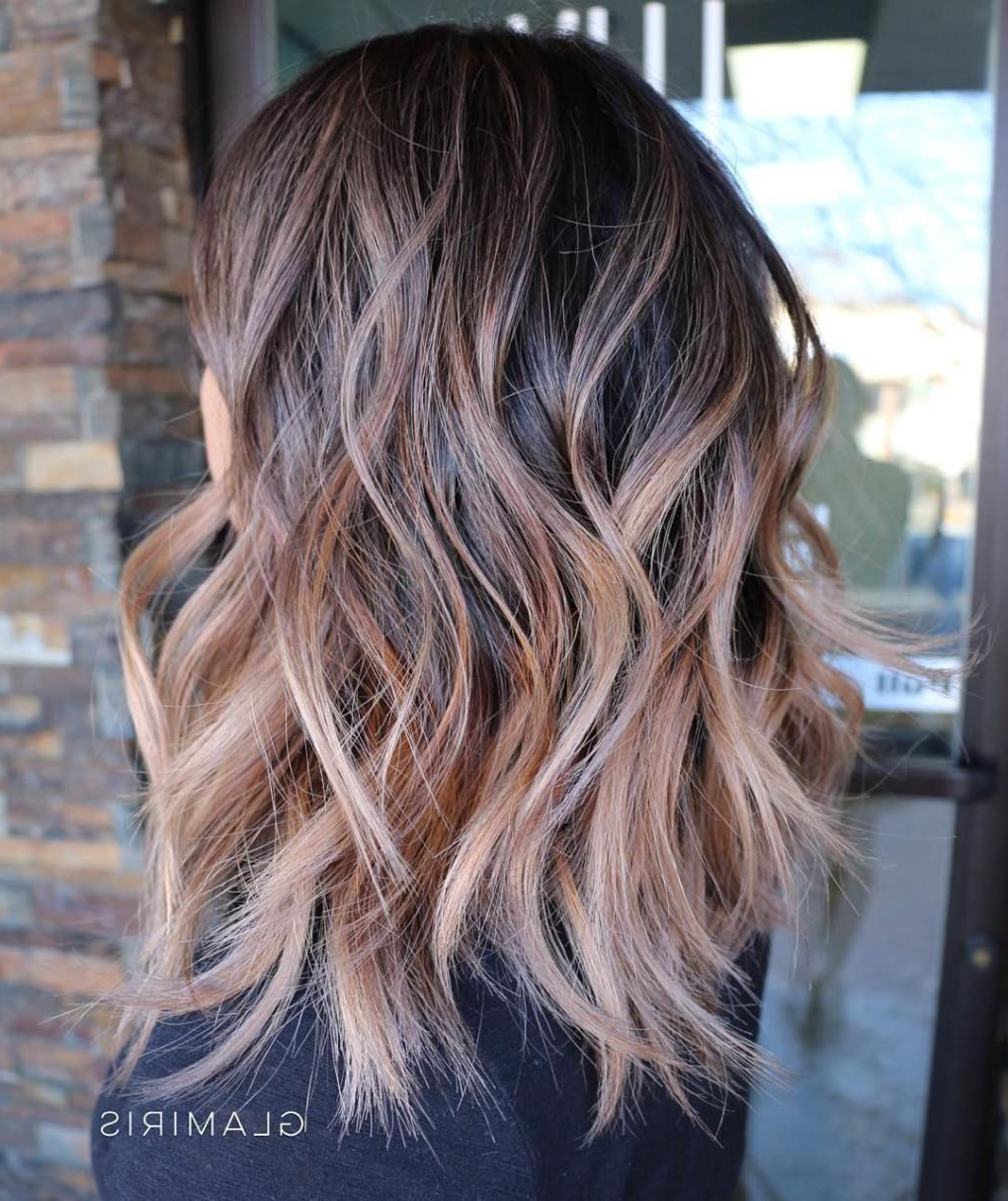 Shag With Disconnected Razored Layers | Hair Cut Ideas For Long Razored Shag Haircuts With Balayage (View 19 of 20)