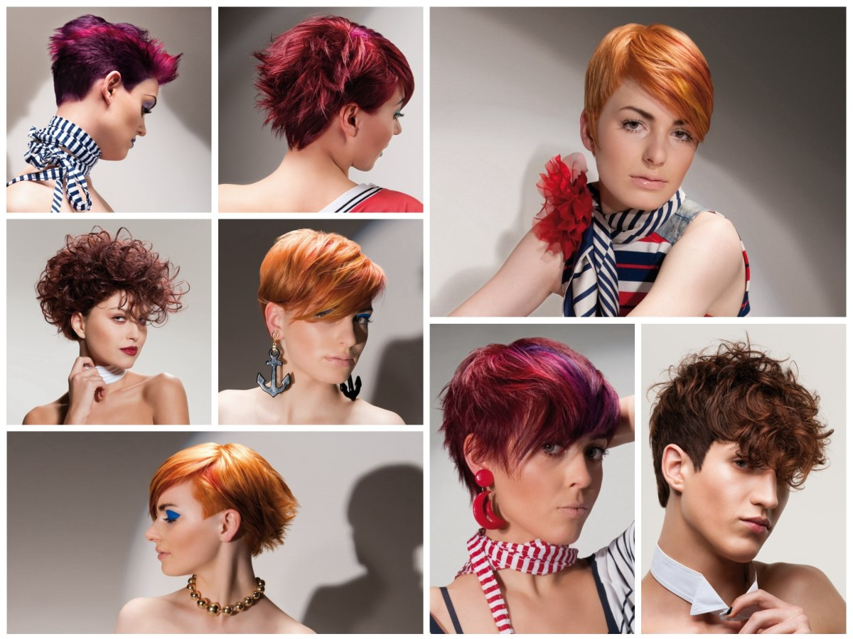 Short And Medium Long Hairstyles With Radiant Colors For Men In Sunset Inspired Pixie Bob Hairstyles With Nape Undercut (View 7 of 20)
