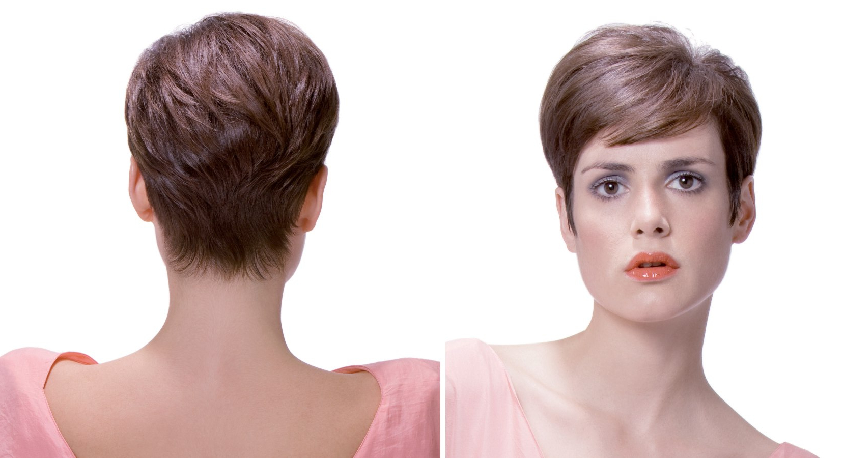 Short And Neat Summer Haircuts For Men And Women Inside Short Reinvented Hairstyles (View 12 of 20)