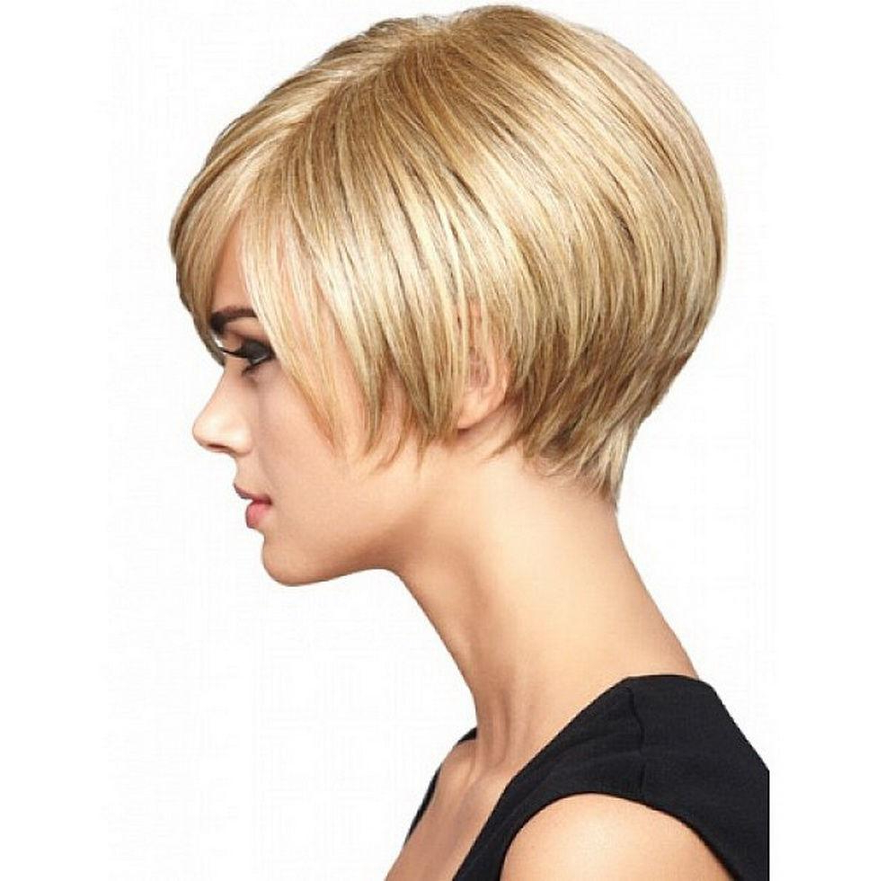 Short Hairstyle : Short Bob Hairstyles For Fine Hair Short Within Choppy Pixie Bob Hairstyles For Fine Hair (View 20 of 20)