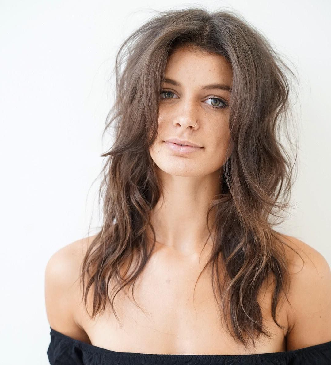 Summer Hair Is All About The Sun Kissed Balayage, Messy Inside Well Known Longer Textured Haircuts With Sun Kissed Balayage (View 8 of 20)