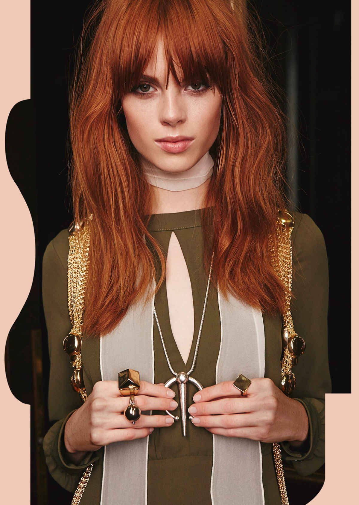 Take It Back In 70s Inspired Accessories And Romantic With Famous Bedhead Auburn Shag Haircuts (View 6 of 20)