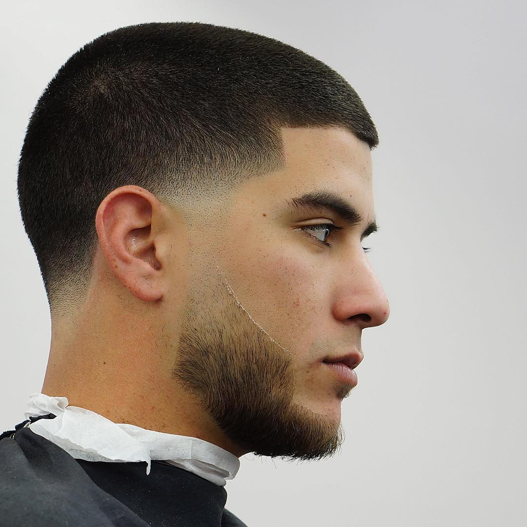 Temple Fade Haircuts Inside Pixie Haircuts With Tapered Sideburns (Gallery 15 of 20)