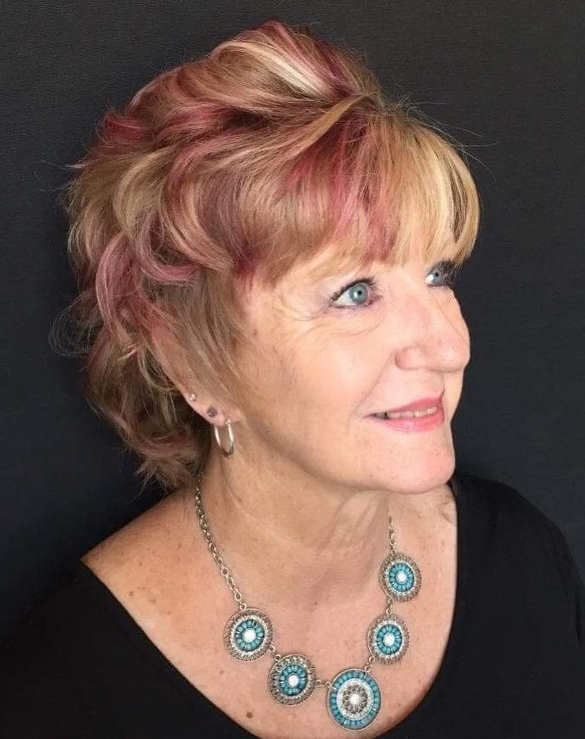 The Hottest Hairstyles And Haircuts For Women Over 60 To In Short Shag Haircuts With Sass (View 14 of 20)