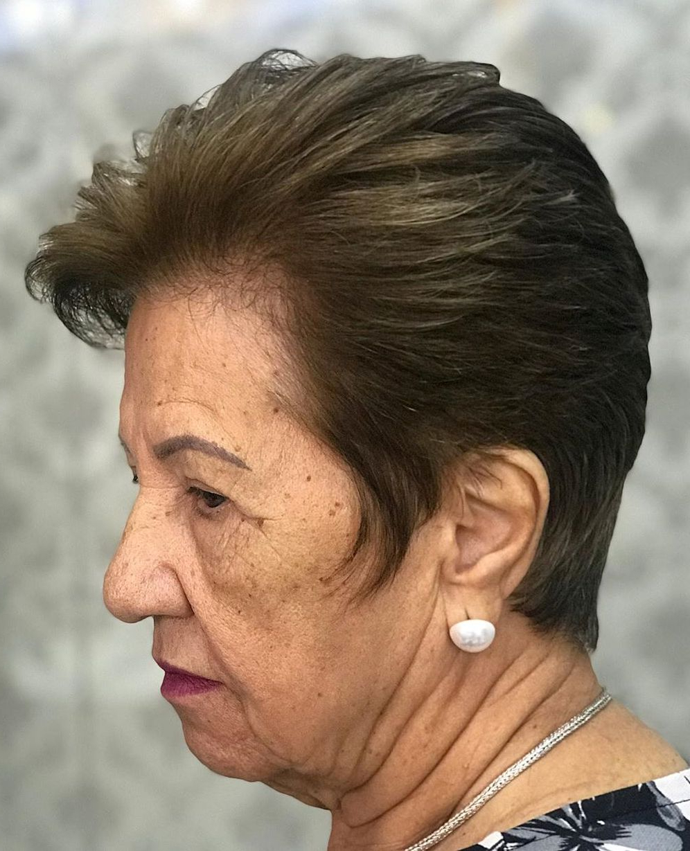 The Hottest Hairstyles And Haircuts For Women Over 60 To Regarding Short Feathered Hairstyles (View 18 of 20)