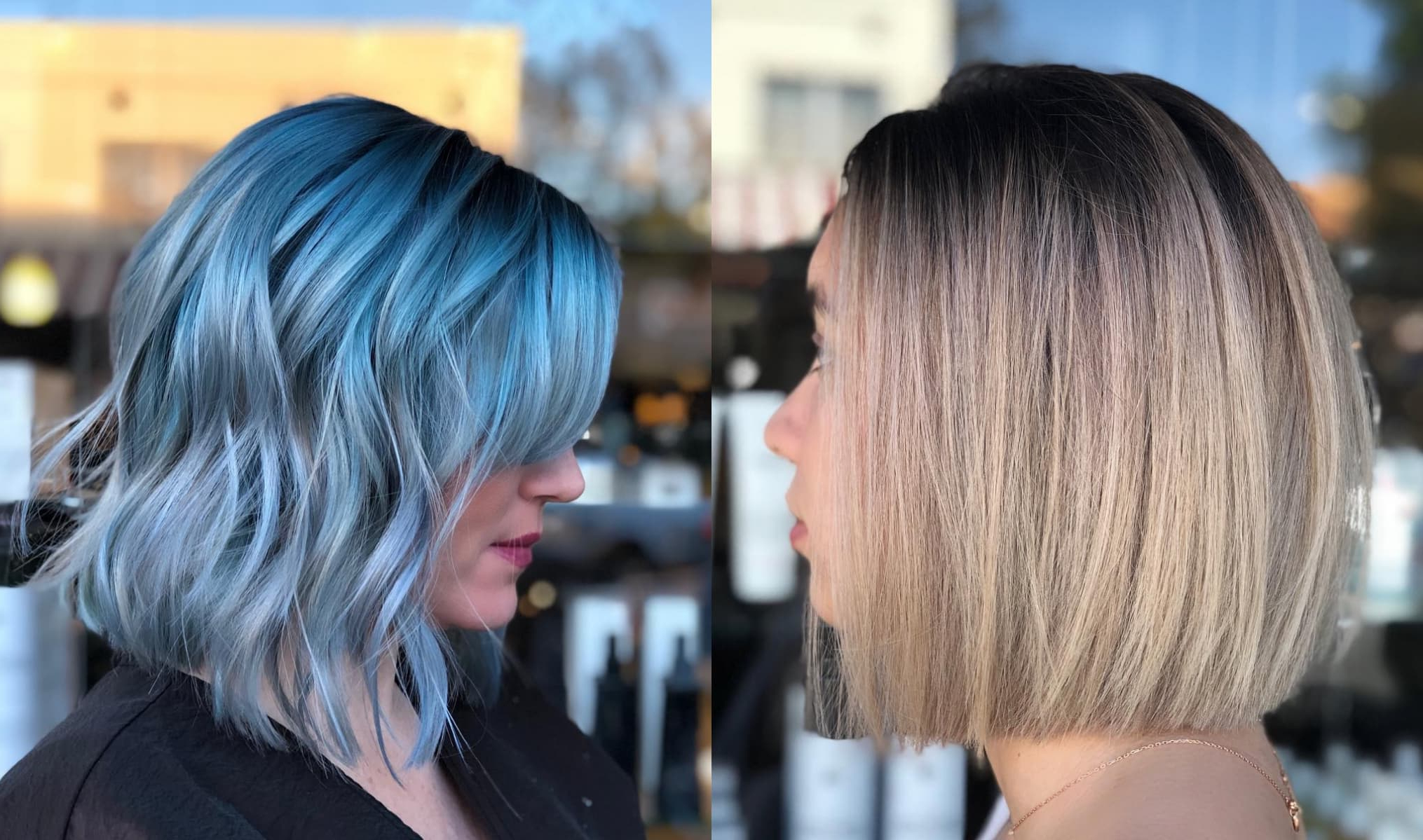 These Medium Hairstyles For Thick Hair Are The Classiest With Regard To Recent Marvelous Mauve Shaggy Bob Hairstyles (View 17 of 20)
