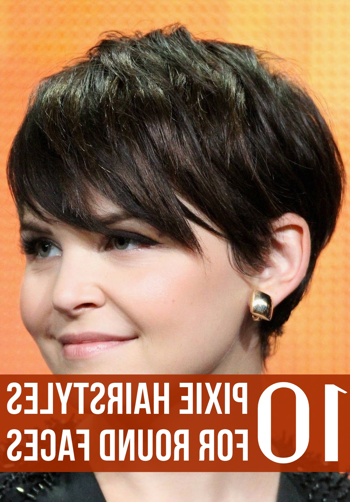 Top 10 Pixie Hairstyles For Round Faces Pertaining To Pixie Hairstyles For Round Faces (View 3 of 20)