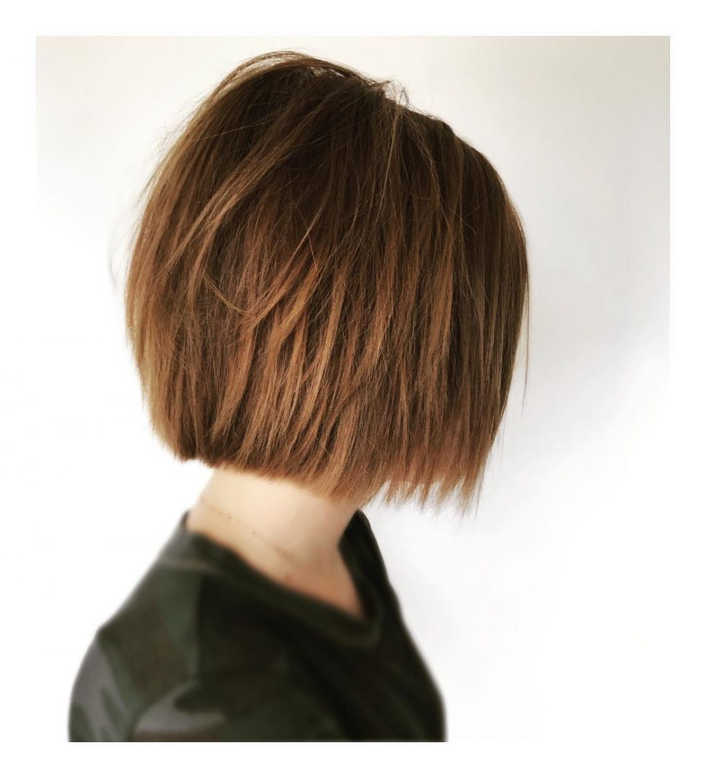 Top 25 Short Shag Haircuts Of 2019 For Very Short Shaggy Bob Hairstyles (View 7 of 20)