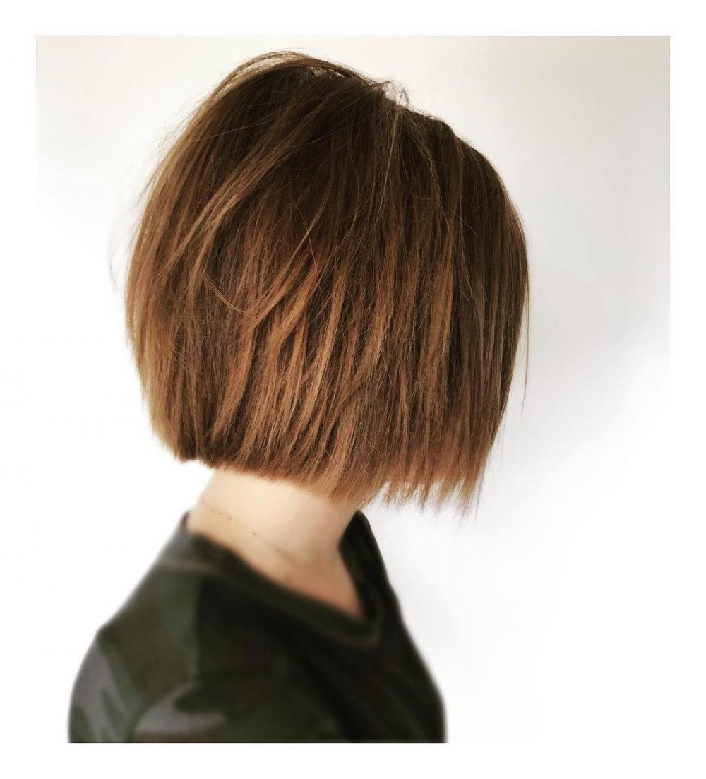 Top 25 Short Shag Haircuts Of 2019 Regarding Short Highlighted Shaggy Haircuts (View 8 of 20)