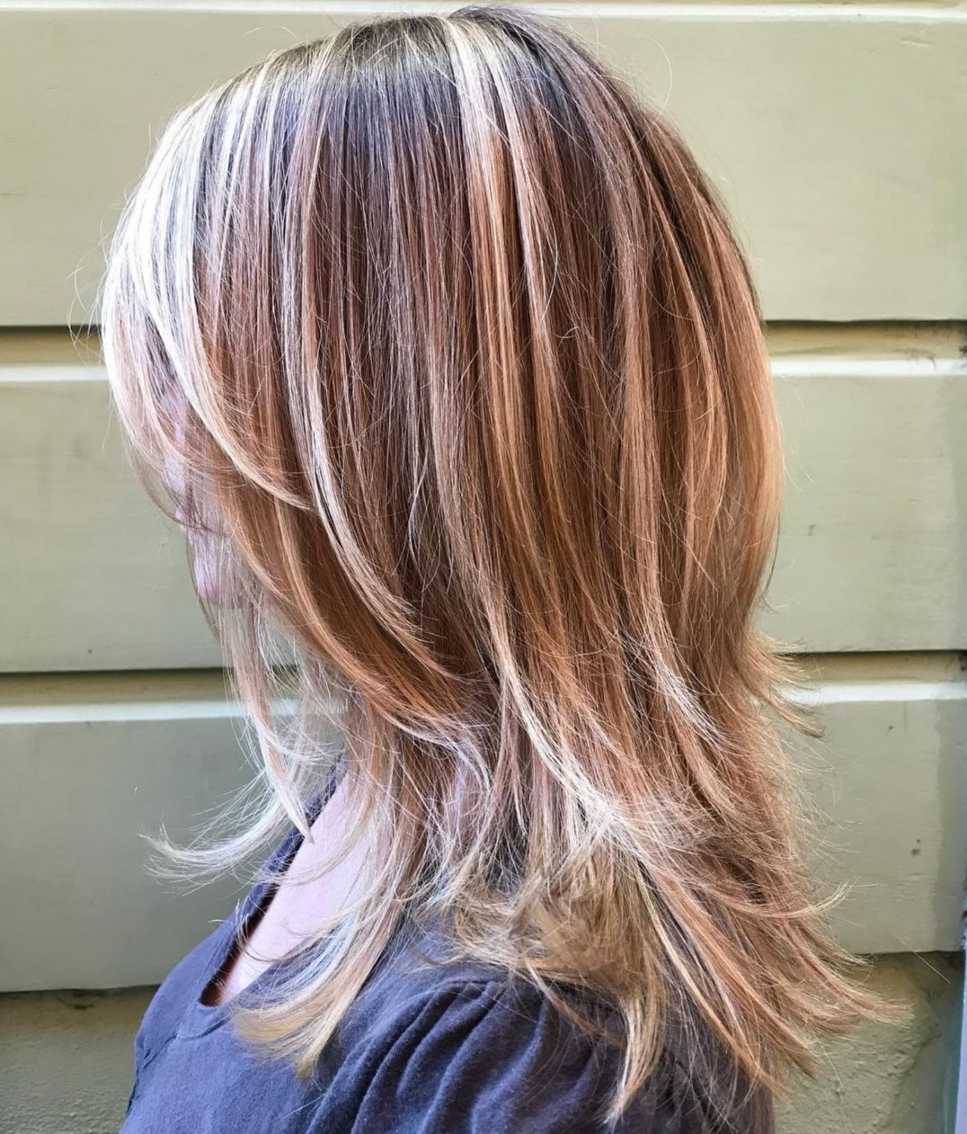 Trendy Long Lavender Layers Shaggy Haircuts In 50 Most Universal Modern Shag Haircut Solutions In (View 4 of 20)
