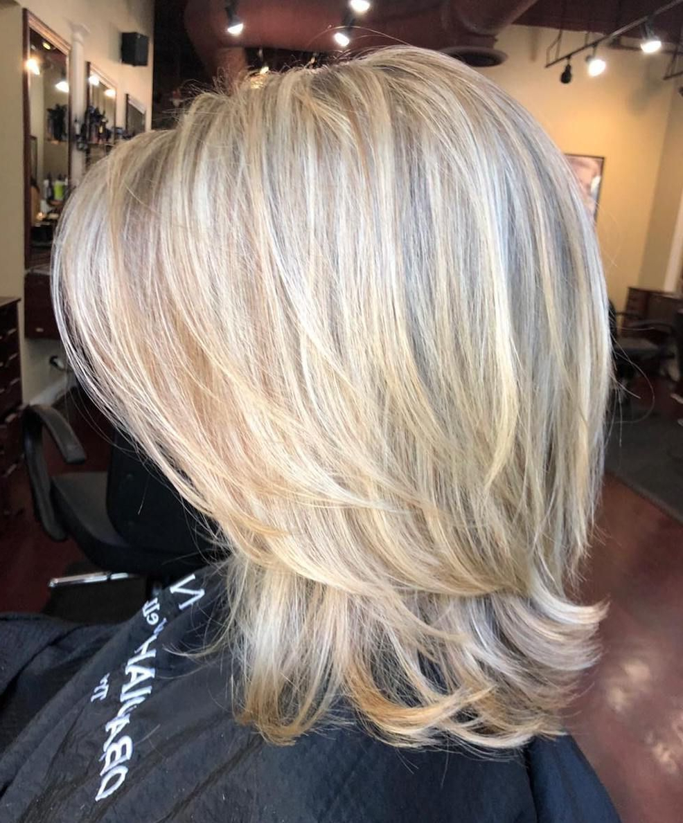 Trendy Medium Two Layer Haircuts Inside Pin On Hair (View 18 of 20)