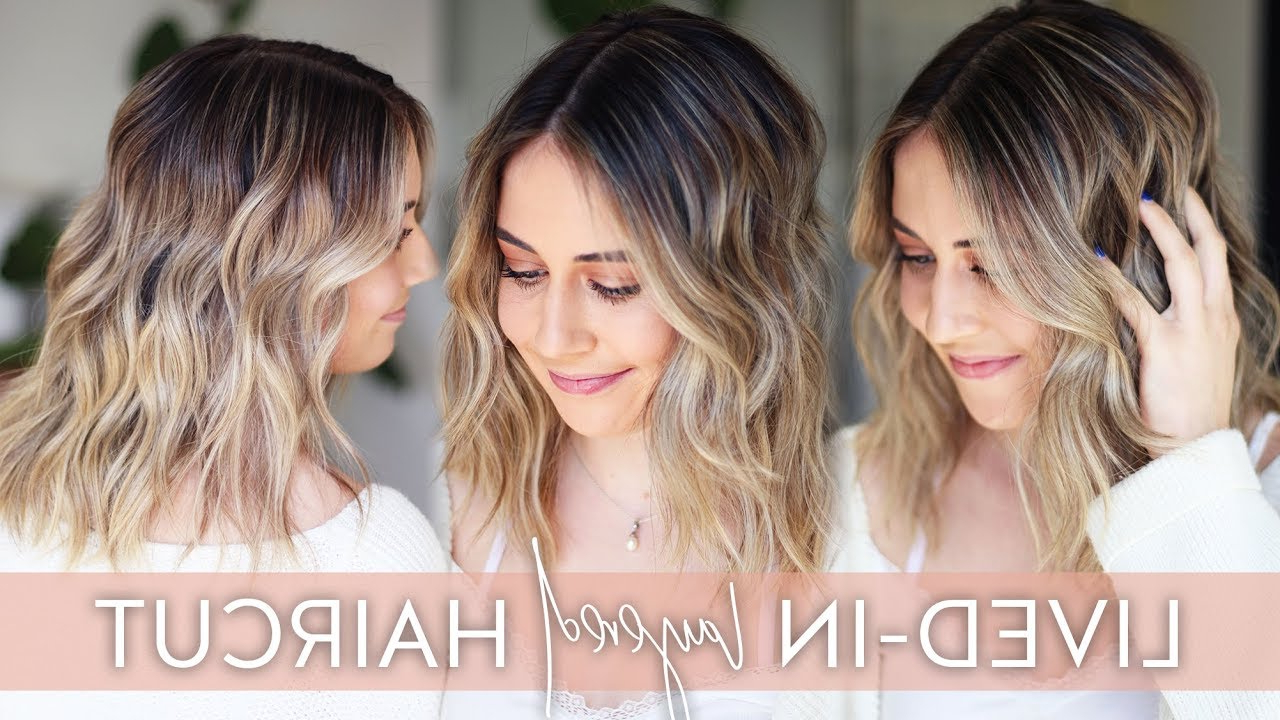 Trendy Medium Wavy Bronde Shag Haircuts Within Lived In Layered Haircut Tutorial With Dry Cutting Techniques (View 14 of 20)