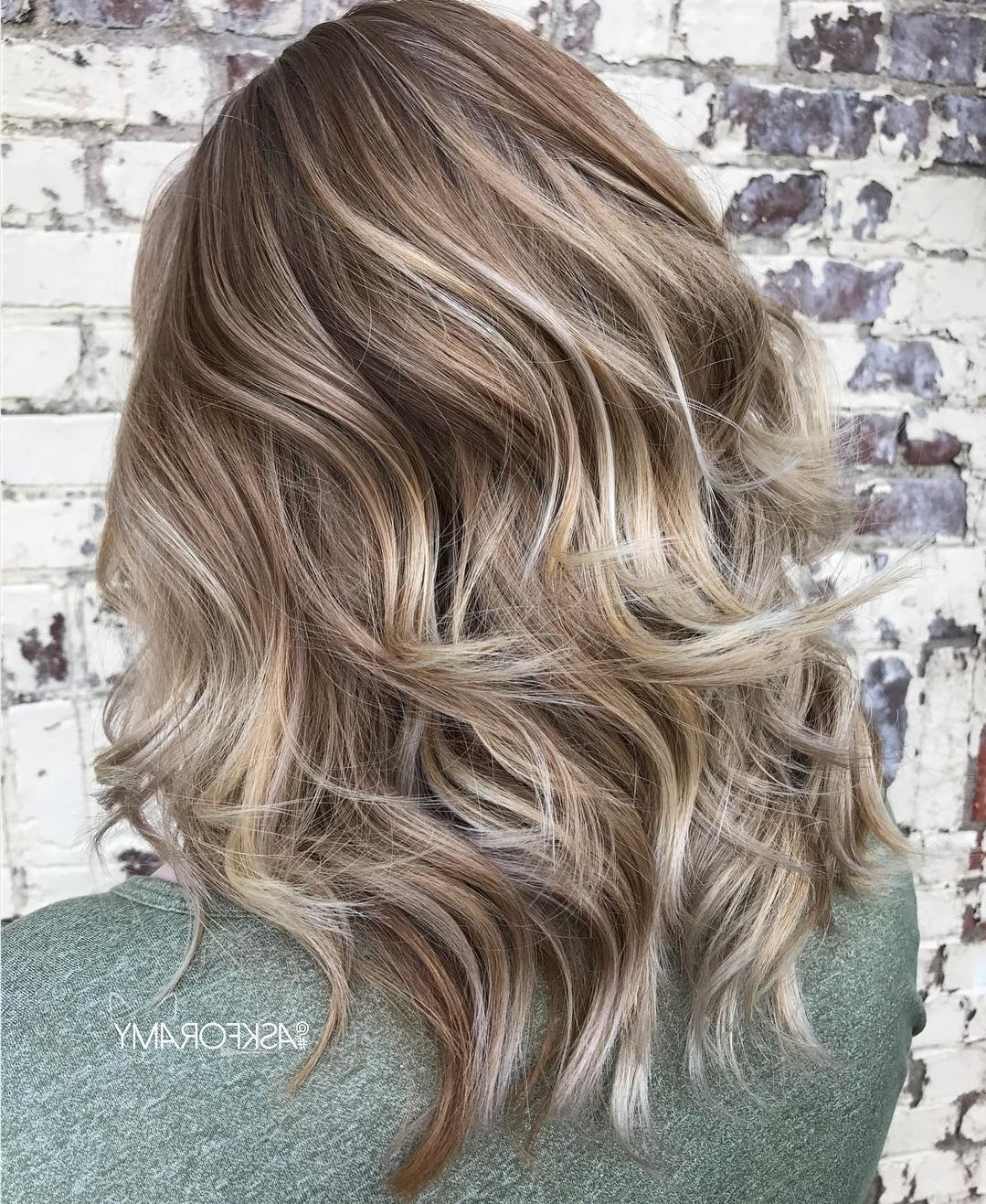 Trendy Mid Length Sliced Bronde Haircuts For 50 Fabulous Medium Length Layered Hairstyles – Hair Adviser (View 12 of 20)