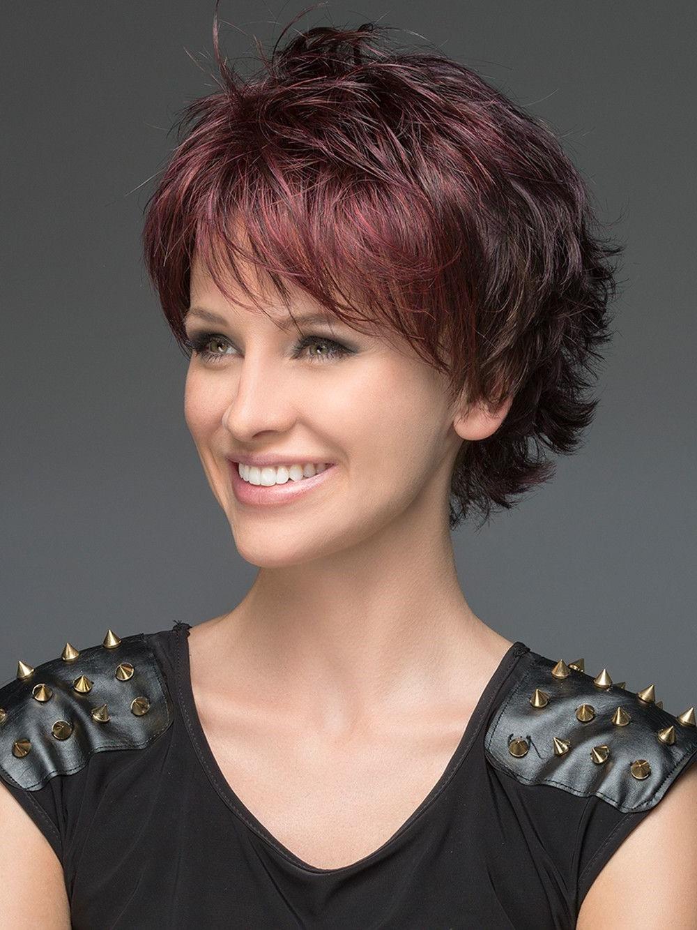 Two Ways To Wear A Short Shag Haircut Regarding Platinum Short Shag Haircuts (View 10 of 20)