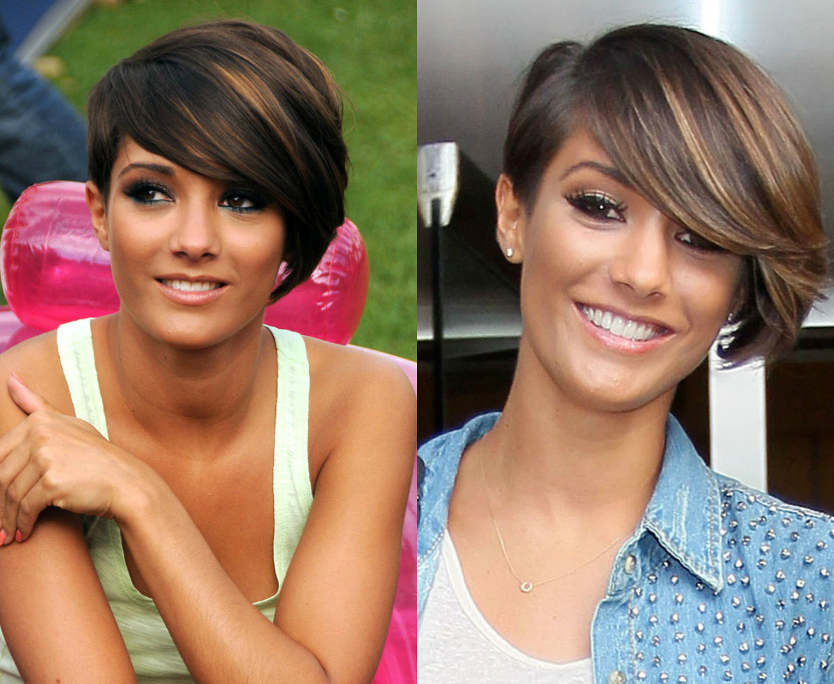 Vivacious Short Pixie Haircuts With Highlights | Hairdrome With Dark Pixie Hairstyles With Cinnamon Streaks (View 11 of 20)