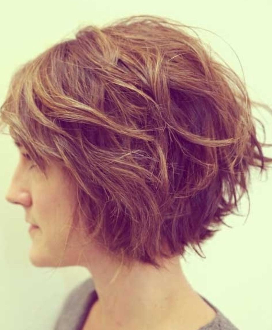 Wave Graduated Haircut #textured | Beauty | Haircut For With Short Bob Hairstyles With Textured Waves (View 19 of 20)