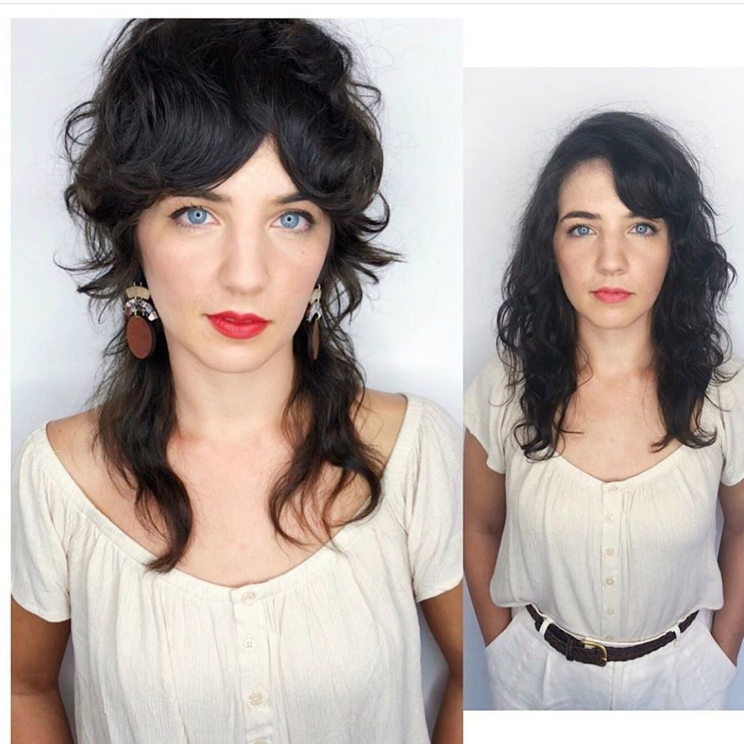Well Known Blue Black Shag Haircuts With Arched Bangs Pertaining To 14 Cute Shag Haircut Ideas For Any Length — Shag Hair Trend (Gallery 13 of 20)
