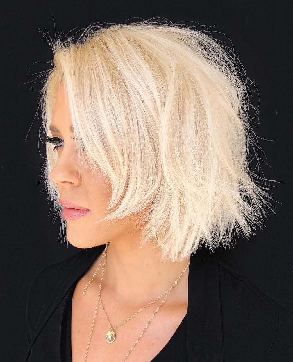 Well Known Gorgeous Wavy White Shag Haircuts Intended For 40 Modern Shag Haircuts For Women To Make A Splash (View 18 of 20)