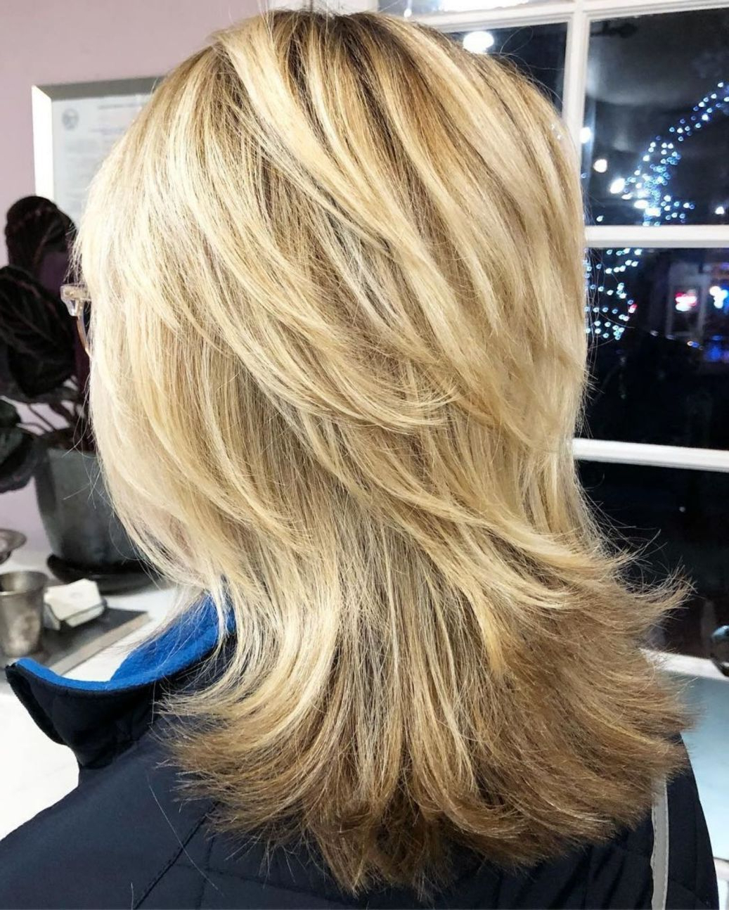 Well Known Long Feathered Shag Haircuts For Thick Hair Pertaining To Pin On Hair Cuts (Gallery 4 of 20)