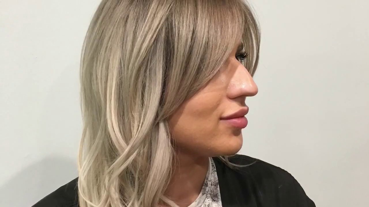 Well Known Long Haircuts With Feathered Face Framing With Regard To Blending Of Extensions, Long Layers And A Face Frame Haircut Tutorial (Gallery 11 of 20)