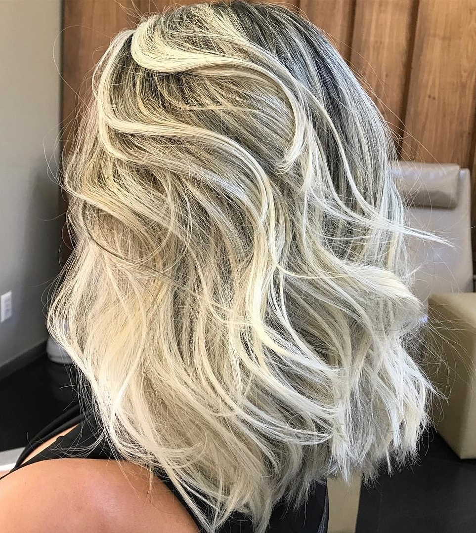 Well Known Lovely Golden Blonde Haircuts With Swoopy Layers With 50 Fabulous Medium Length Layered Hairstyles – Hair Adviser (Gallery 5 of 20)
