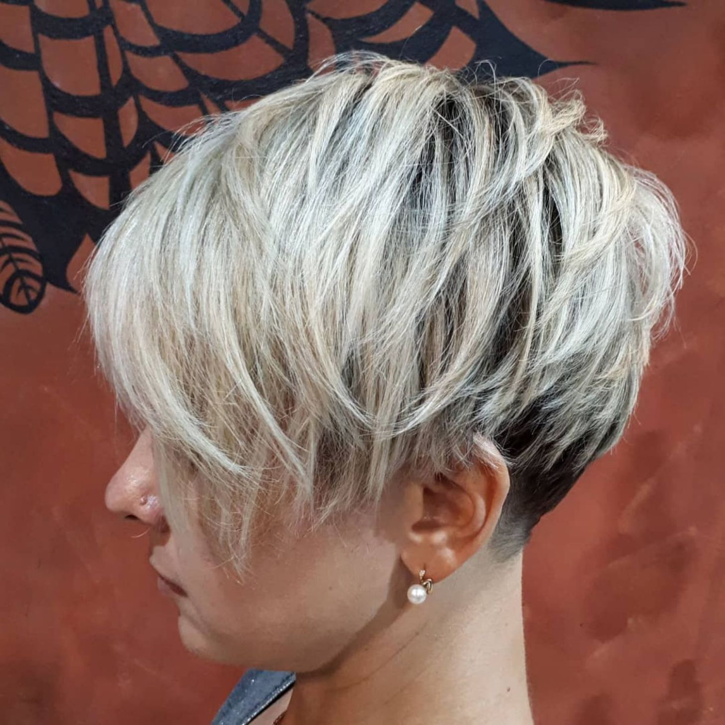 Well Known Lovely Two Tone Choppy Lob Hairstyles In Pin On Cute Cut (View 20 of 20)