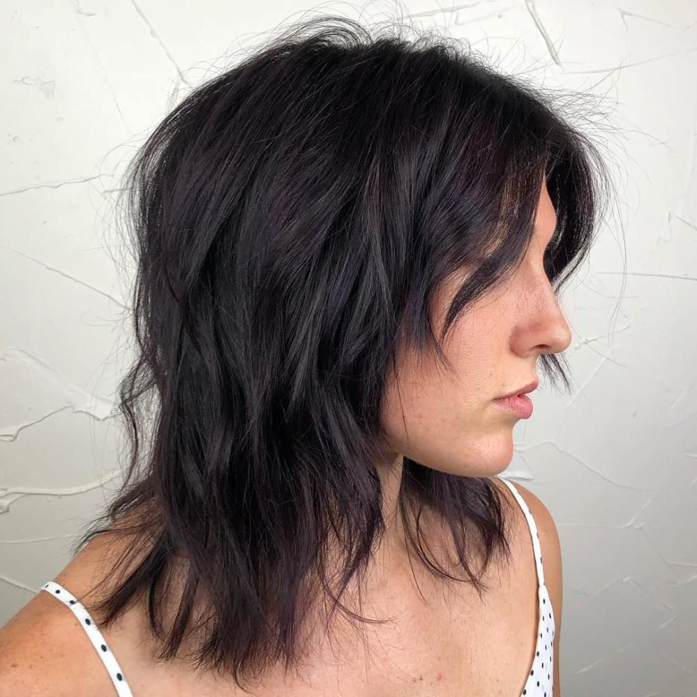 Well Known Medium Razored Shag Haircuts For Straight Hair With Regard To 60 Best Variations Of A Medium Shag Haircut For Your (View 2 of 20)