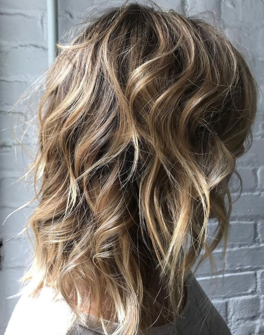 Well Known Medium Wavy Bronde Shag Haircuts Throughout Pin On Hair Cuts (View 3 of 20)