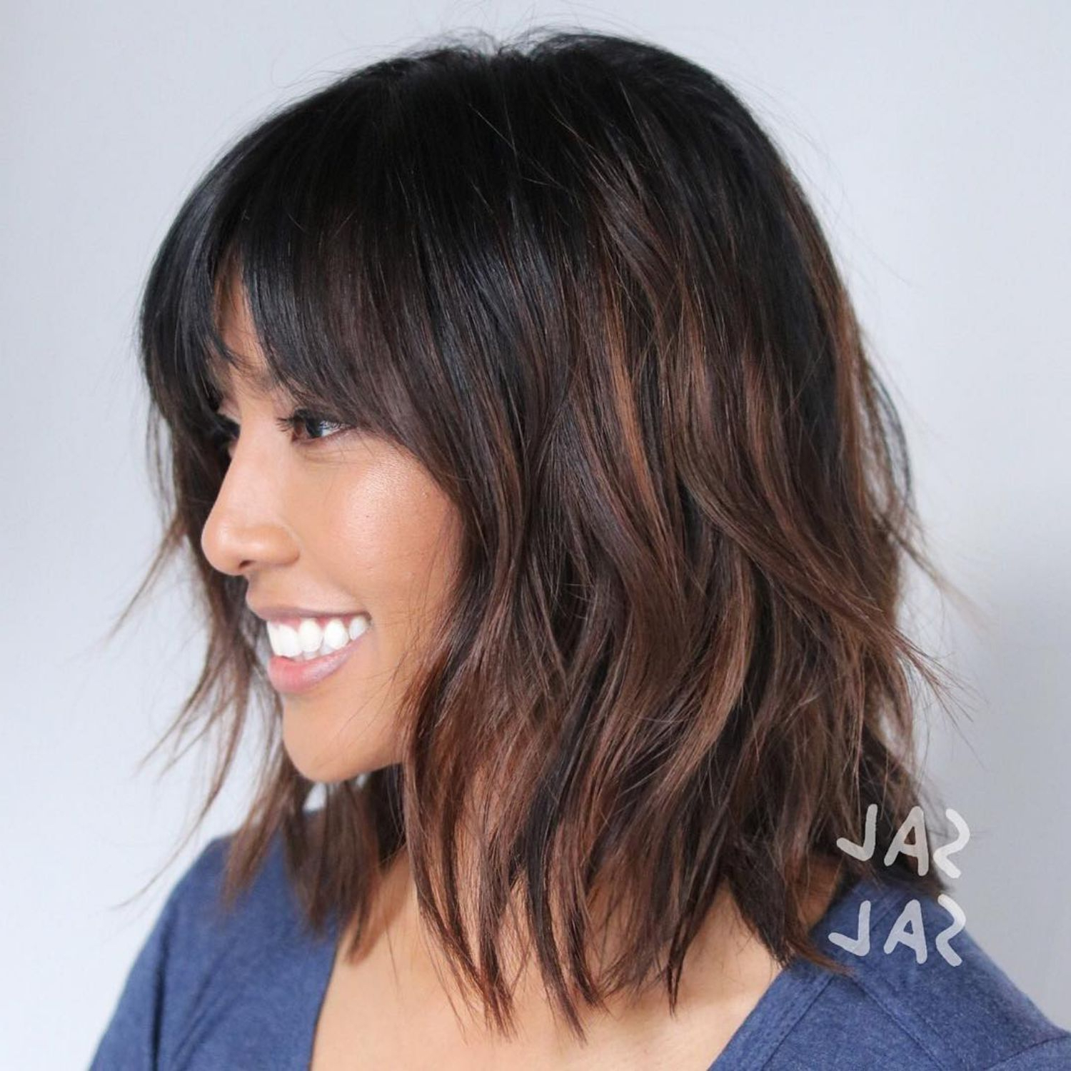 Well Known Subtle Ombre Shag Haircuts Regarding 60 Best Variations Of A Medium Shag Haircut For Your (View 20 of 20)