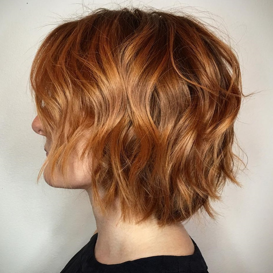 Well Known Wispy Layered Hairstyles In Spicy Color With Regard To 40 Awesome Ideas For Layered Bob Hairstyles You Can't Miss (View 3 of 20)