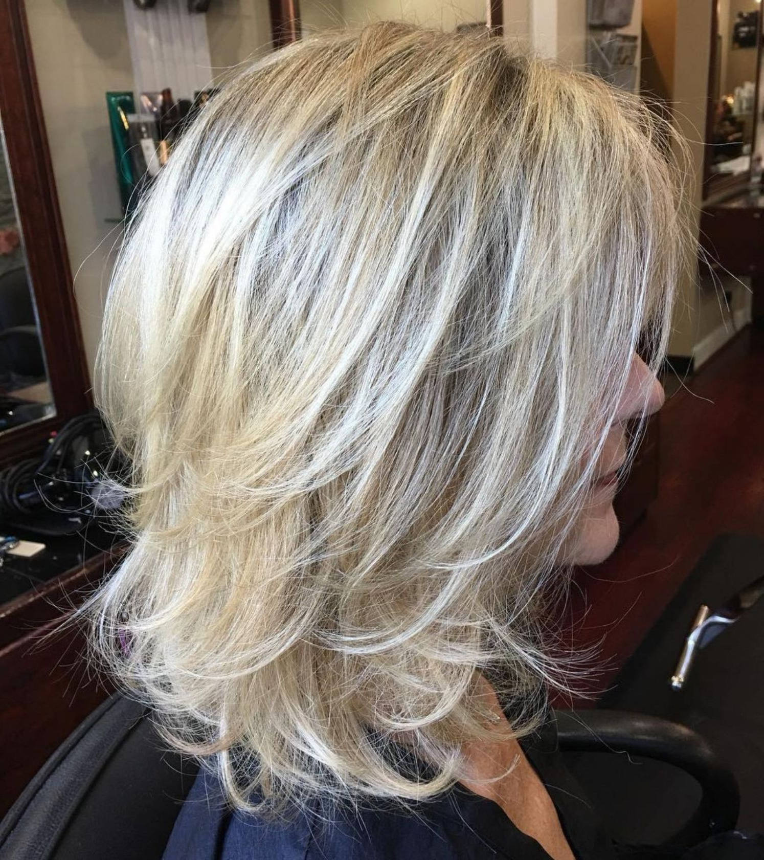 Well Liked Blonde Shag Haircuts With Layers Throughout 60 Best Variations Of A Medium Shag Haircut For Your (View 3 of 20)