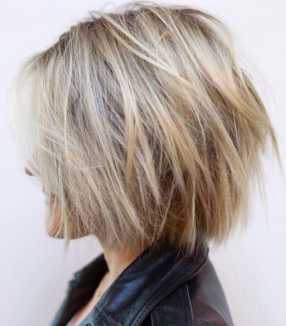 Well Liked Layered Bob Shag Haircuts With Balayage Inside 60 Most Beneficial Haircuts For Thick Hair Of Any Length (View 16 of 20)
