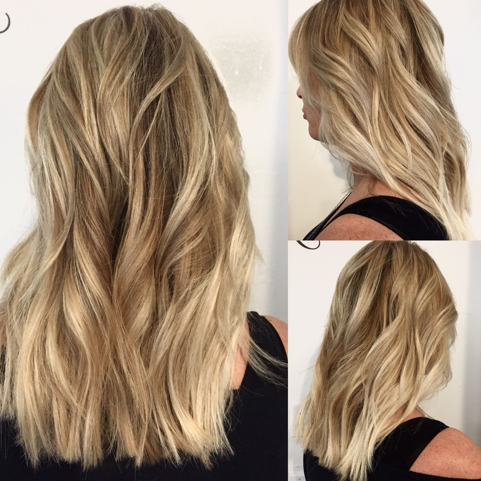 Well Liked Longer Textured Haircuts With Sun Kissed Balayage Intended For Beachy Hair! Sun Kissed Hair Createdbalayage And (View 3 of 20)