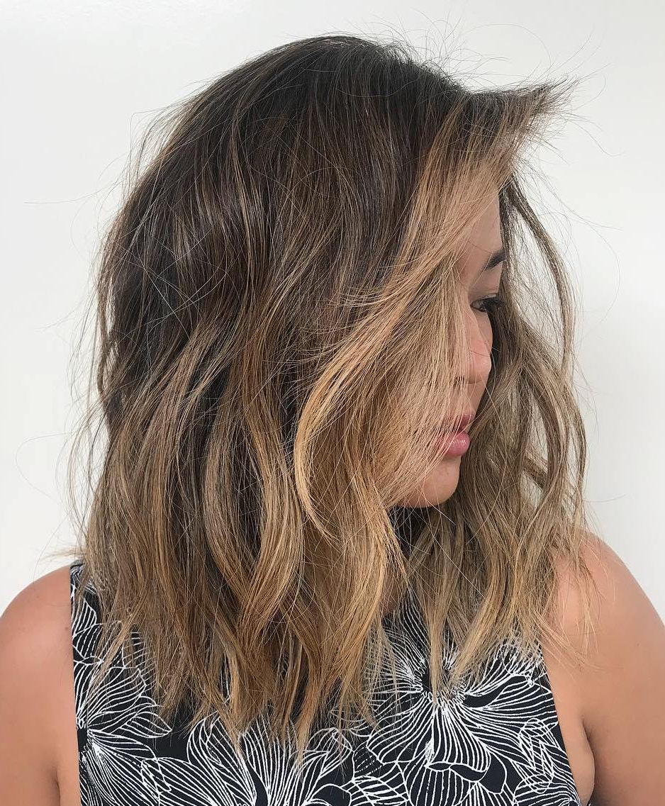 Well Liked Medium Shaggy Brunette Hairstyles With Regard To 40 Modern Shag Haircuts For Women To Make A Splash (View 14 of 20)