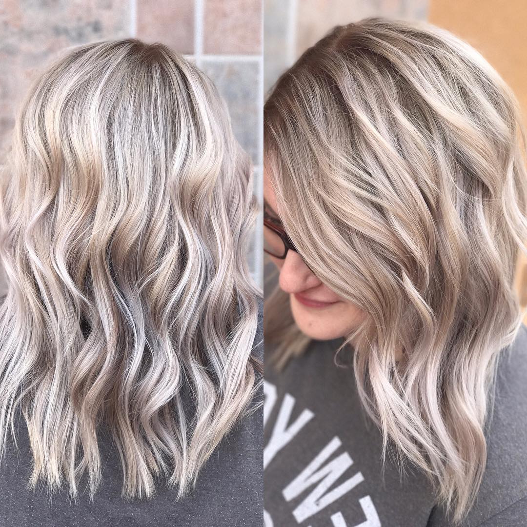 Well Liked Medium Sliced Ash Blonde Hairstyles With Regard To 10 Everyday Medium Hairstyles For Thick Hair – Easy Trendy (Gallery 9 of 20)
