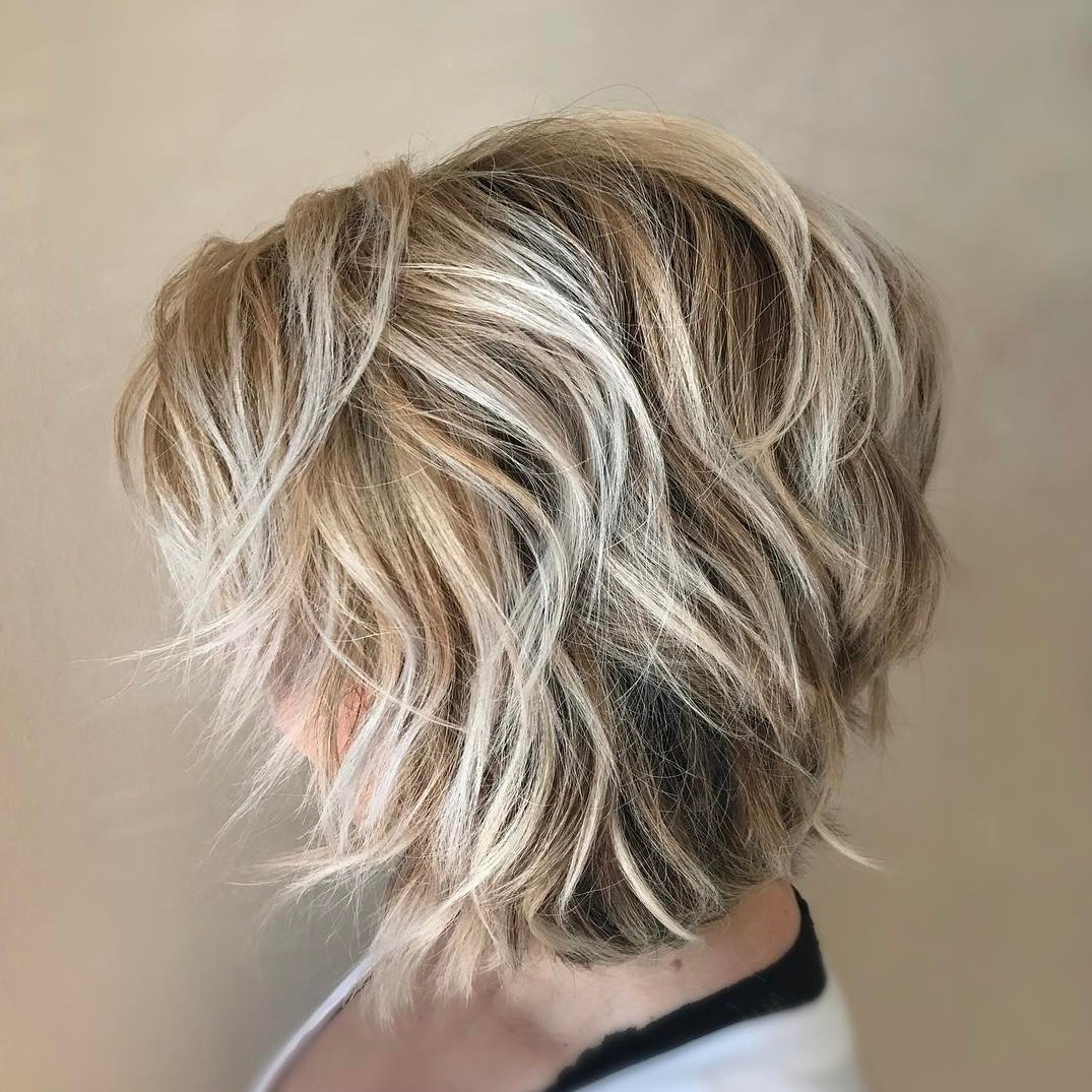 Well Liked Pretty Shaggy Brunette Bob Hairstyles For 50 Gorgeous A Line Bob Haircuts To Beat Hair Boredom – Hair (View 15 of 20)