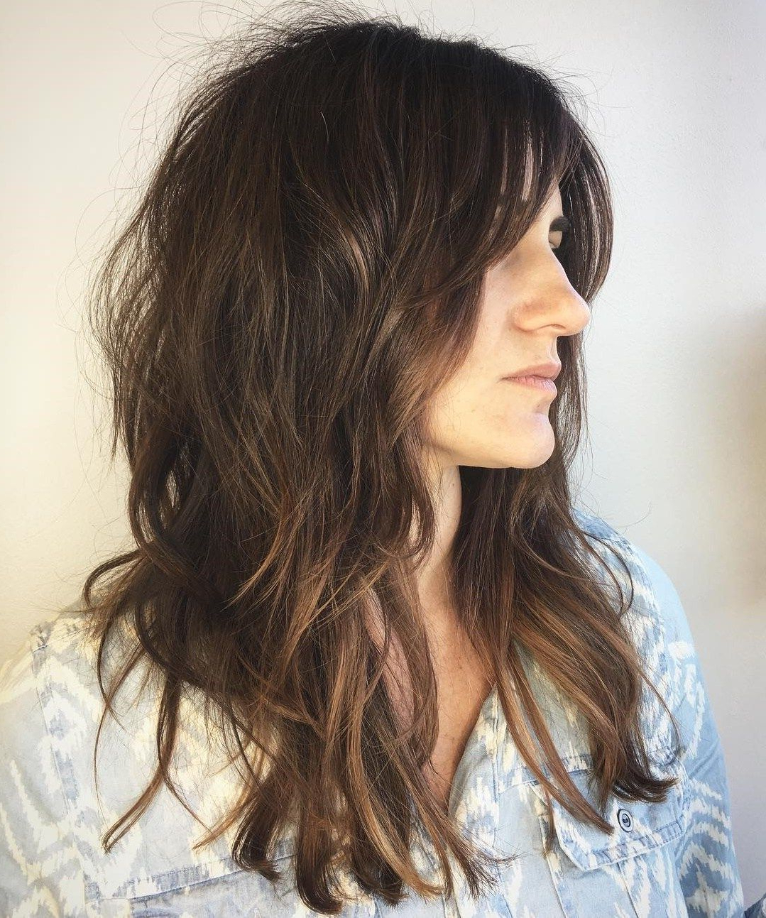 Well Liked Textured Long Shag Hairstyles With Short Layers Within 60 Most Universal Modern Shag Haircut Solutions In (View 2 of 20)