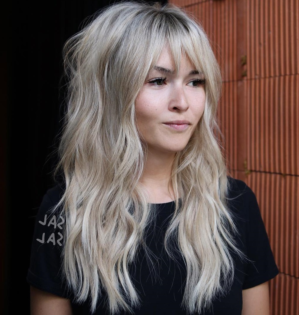 Widely Used Blondie Bombshell Long Shag Hairstyles With 40 Classy Hairstyles For Round Faces To Choose In (View 15 of 20)