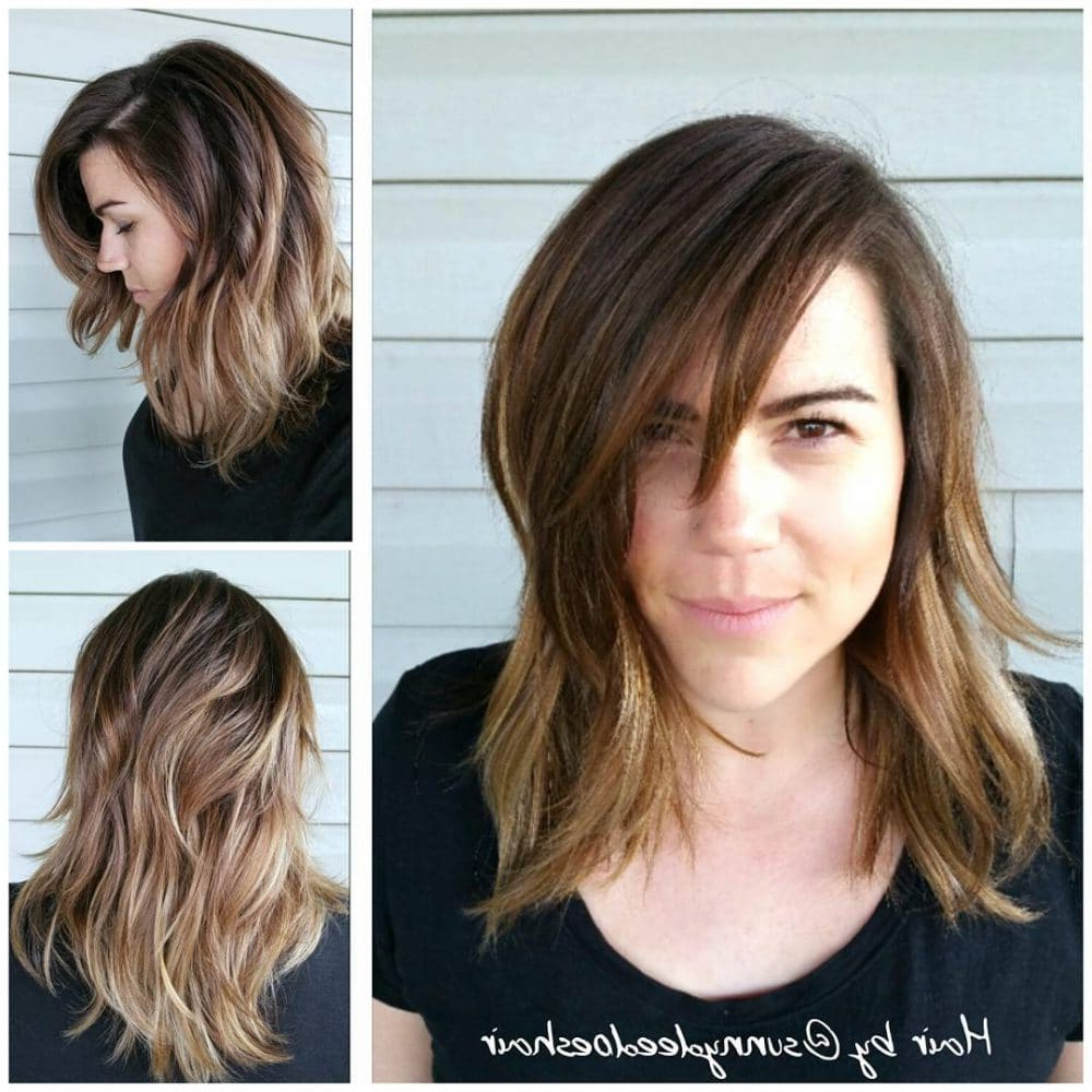 Widely Used Dynamic Feathered Brunette Shag Haircuts Inside 26 Modern Shag Haircuts To Try In (View 5 of 20)