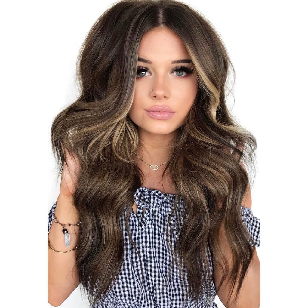 Women's Wavy Voluminous Layered Cut With Face Framing Layers In Famous Face Framing Wavy Hairstyles (View 13 of 20)