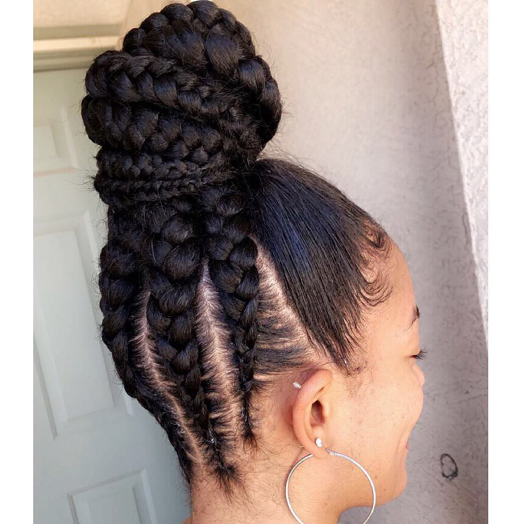 10+ Gorgeous Half Up Half Down Braids Hairstyles Inside Most Up To Date Half Braided Hairstyles (Gallery 15 of 20)
