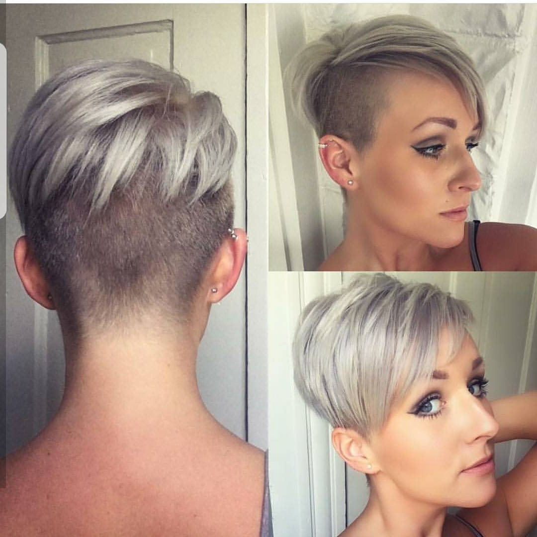 10 Short Haircuts For Fine Hair 2020: Great Looks From Inside Most Up To Date Disconnected Pixie Haircuts For Fine Hair (Gallery 7 of 20)